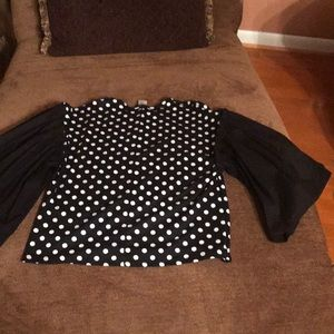 Tops - Brand New top with bell sleeves
